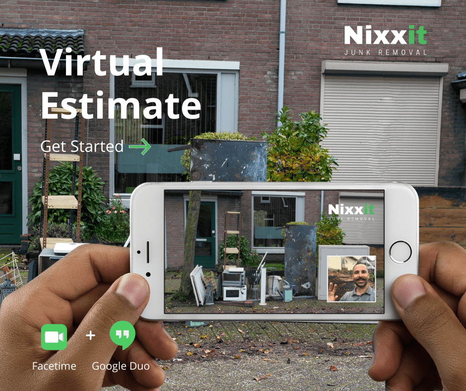 Nixxit provides virtual estimates on FaceTime and Google Hangouts in order to promote social distancing