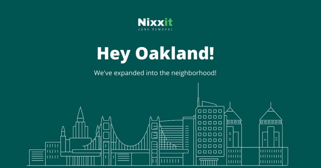 Nixxit Junk Removal Expands To Oakland